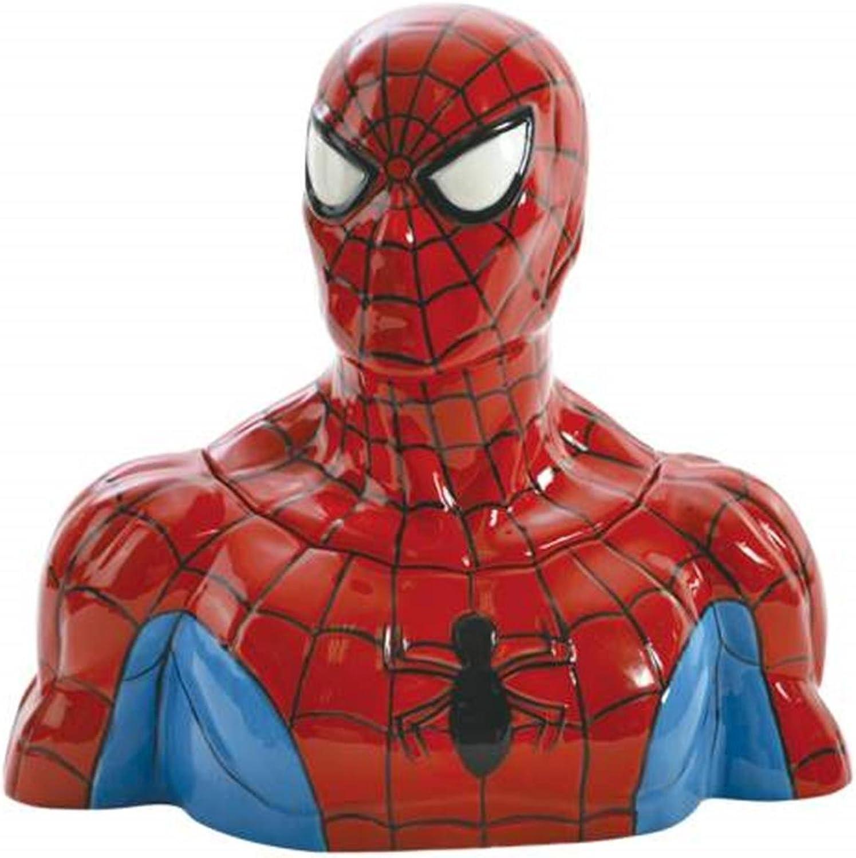 10.5 Inch Spider-Man Collectible Cartoon Superhero Cookie Jar