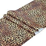 Taogift Revestimiento autoadhesivo de vinilo con estampado de leopardo, para aparadores, cajones, muebles, paredes, manualidades, 17.7 x 117 pulgadas