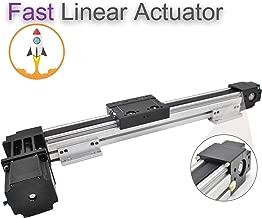 High Speed 600 MM 24 INCH Stroke Belt Drive Linear Guide Rail Motion Slide Actuator Module +Nema23 for CNC Linear Position Kit