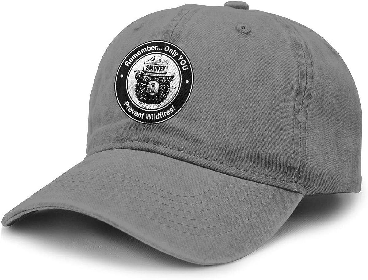 Online limited product Japan's largest assortment Alin-Z Bear Unisex Adjustable Baseball Caps Denim Ha Hats Cowboy