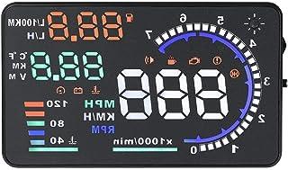 HUD Display, Fydun A8 5,5 '' Auto HUD Head Up Display Geschwindigkeit Warnung OBD II Auto Windshied Reflective Bildschirm Windschutzscheibe Projektors System