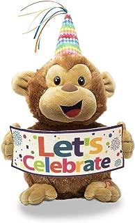Cuddle Barn 11 Plush Monkey Hooray Harry Dances with Celebrate Song