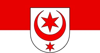 DIPLOMAT Flagge Stadt Halle Saale | Querformat Fahne | 0.06m² | 20x30cm für Flags Autofahnen