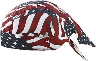 バンダナキャップ 帽子 レディース メンズ カッコイイ 三角巾 インナーキャップ コットン ヒップポップ 帽子 ストリート系 掃除 屋内帽子