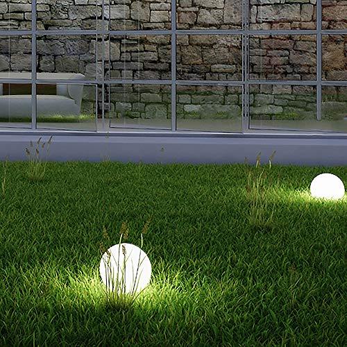 Bestseller 2 x LED Solar-Kugelleuchte Marla Solar-Kugellampe Solarleuchte Gartenleuchte mit Erdspieß, Durchmesser 20cm Kugelleuchte Gartenkugel