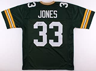 aaron jones signed jersey