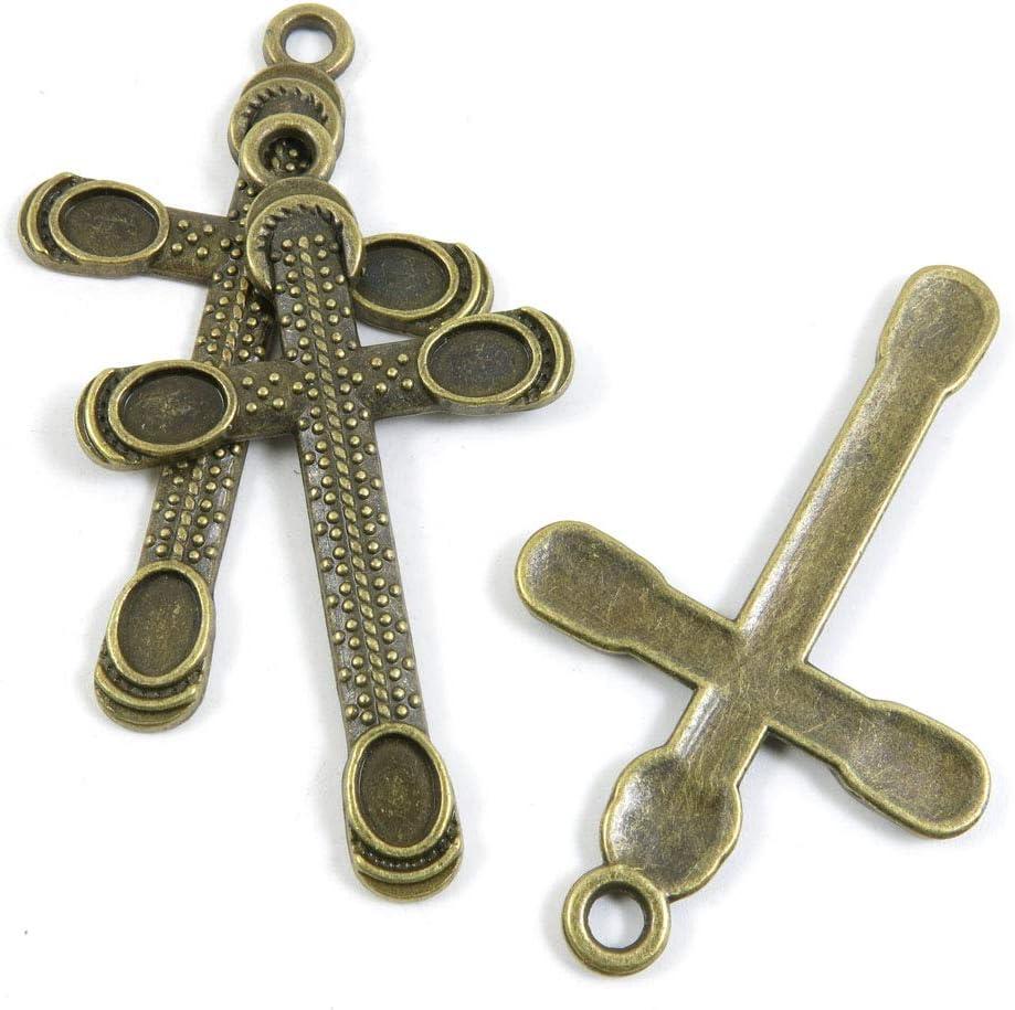 160 PCS Metal Antique Wholesale Bronze Rapid rise Making Supplies Jewelry Charm Color
