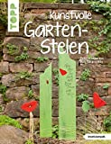 Kunstvolle Garten-Stelen: Dekorationen aus Holz fr...