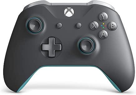 Microsoft Xbox Wireless Controller-Grey And Blue - Xbox One - Grey/Blue Edition