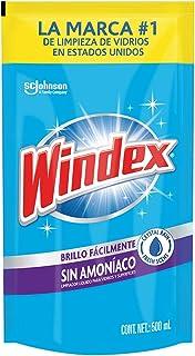 Windex Crystal Rain, Sin Amoníaco, Repuesto 500 ml