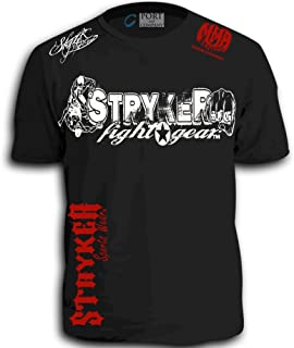 Stryker MMA Fighters Shorts Sleeve T-Shirt Top Tapout UFC Brazilian Jiu Jitsu