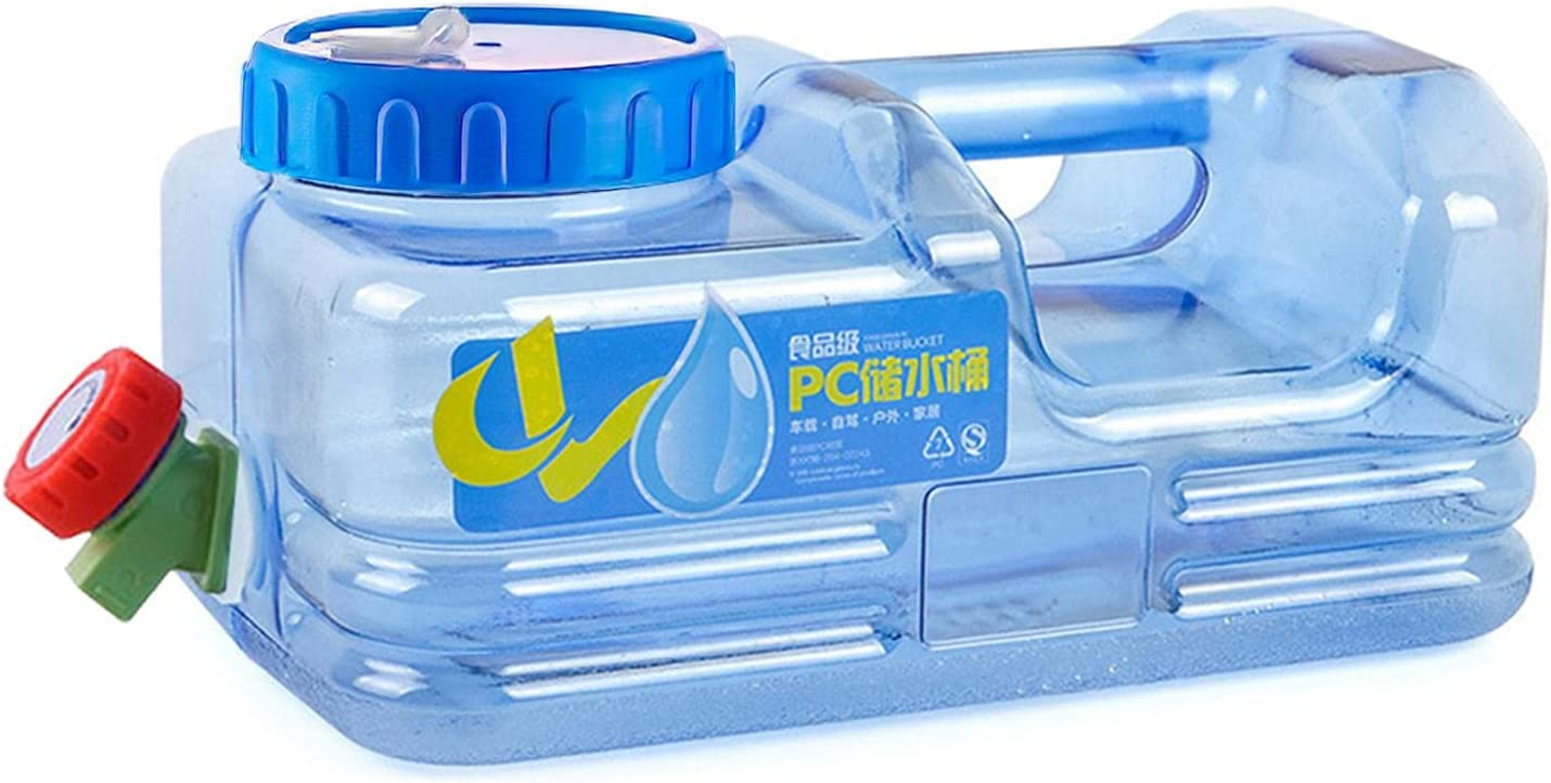 Portable Water Container With Spigot Max 61% OFF Camping Drinking shipfree Bucket 5.