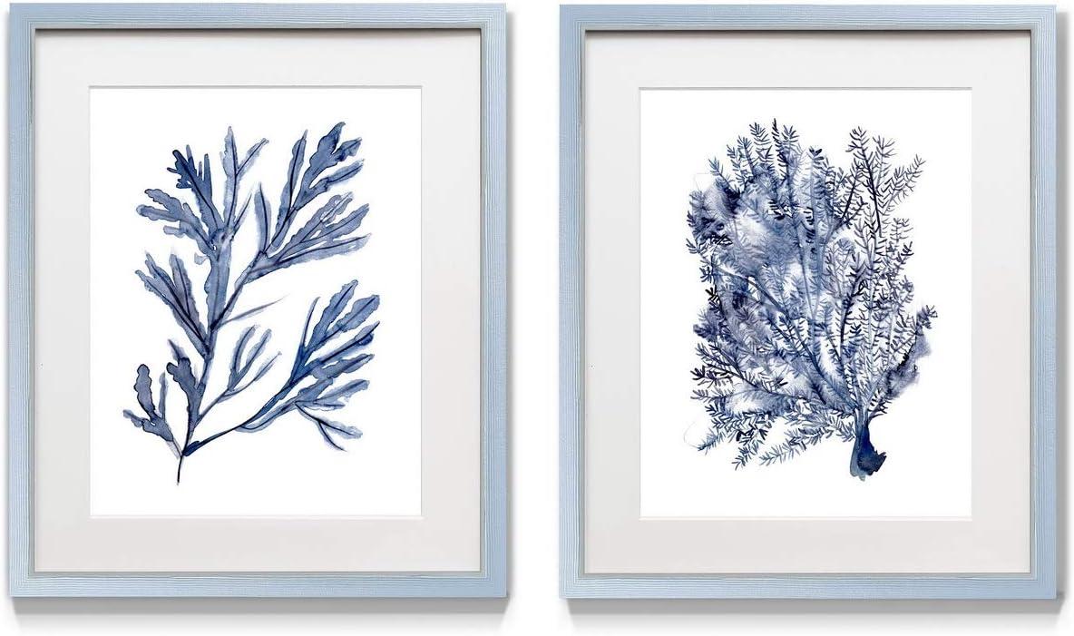 Renditions 贈答 Gallery 新作 人気 Seaweed 1 2 Framed Underwater Set Artwork