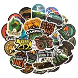 SUNYU Camping Graffiti Stickers Outdoor Travel Sticker For DIY Luggage Laptop Skateboard Car Motorcycle Bicycle 50Pcs/Set