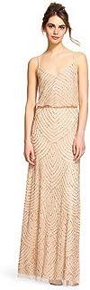 فستان نسائي طويل مطرز من Adrianna Papell