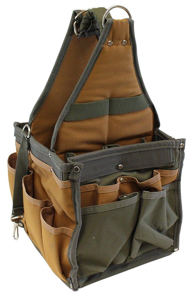 Multi-pocket Tool Bag With Shoulder Strap - 8.5