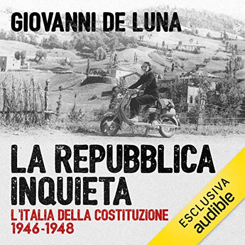 La repubblica inquieta audiobook cover art