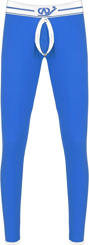 YiZYiF Men's Long Johns Sleep Pants Thermal Pants Bamboo Fibre Autumn Pants Tight Slim Underwear