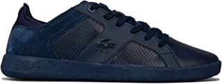 Lacoste Mens Novas 318 3 Trainers Sneakers in Navy White