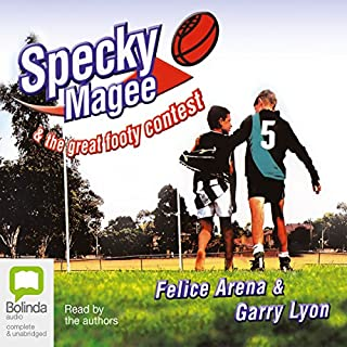 Specky Magee & The Great Footy Contest cover art