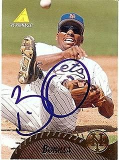 Bobby Bonilla Signed Autographed Baseball Card 1995 Pinnacle Mets GX19666