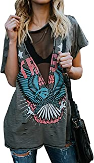 Best ripped band t shirts Reviews