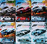 Hot Wheels Forza Horizon 4 Complete 6 Car Set Bundle