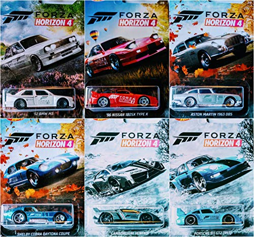 Hot Wheels Forza Horizon 4 Juego Completo de 6 Coches