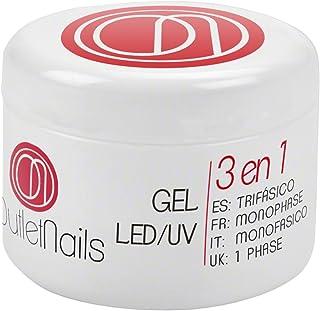 Gel Trifasico UVLED 15ml para Uñas de OUTLET NAILS transparente Viscosidad media Monophase Gel UVLEDMonofasico