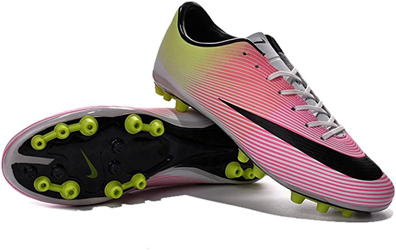 Zhromgyay pour Homme Chaussures de Football Mercurial Superfly AG Soccer Bottes