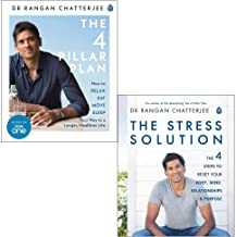 Rangan chatterjee 4 pillar plan, the stress solution 2 books collection set