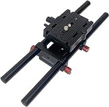 Shootvilla Universal Rail System 15mm Rod Support for EOS 5D Mark2 7d 550d t2i DSLR DV Camera HDV Video Film Shooting Movie