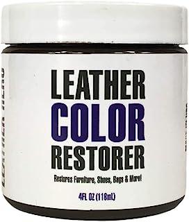 Leather Hero Leather Color Restorer & Applicator- Repair, Recolor, Renew Leather & Vinyl Sofa, Purse, Shoes, Auto Car Seat...