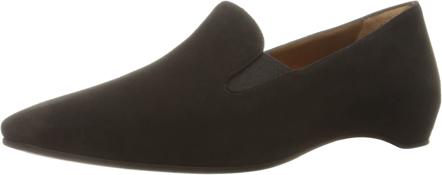 Aquatalia by Marvin K. Womens Marianne Suede Slip-On Loafer