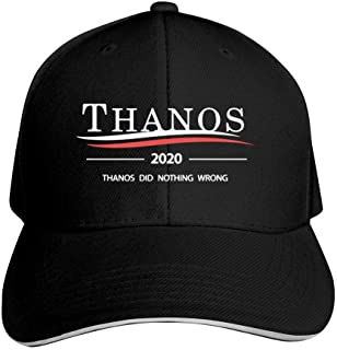 Thanos 2020 Thanos Did Nothing Wrong Base-Ball Cap & Hat for Men or Women