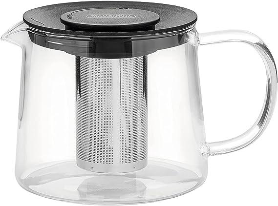 Bule Conico Vidro Com Infusor 0,9 litros Tramontina