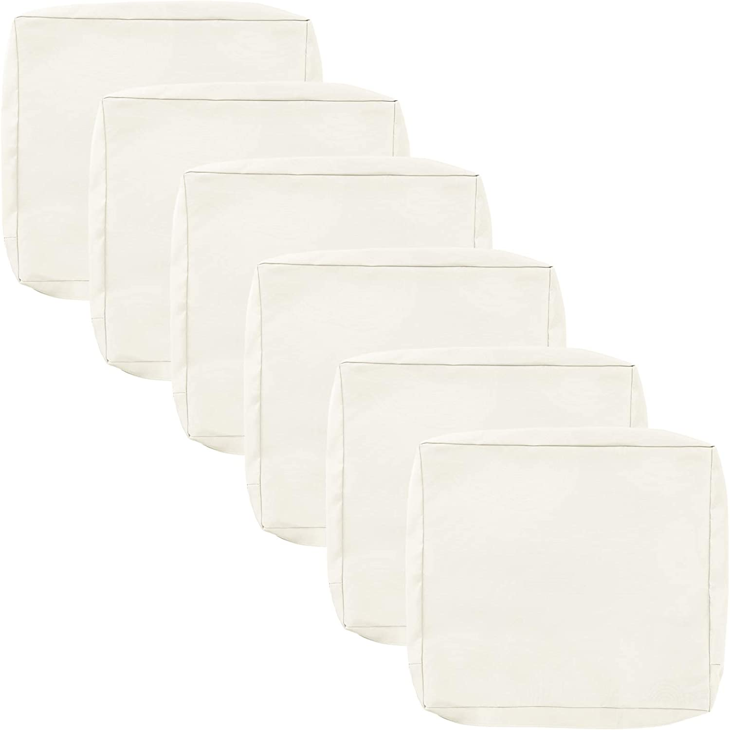Patio Chair Cushion Cover Replacement 6 Pack 24