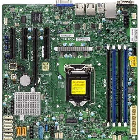 Supermicro Motherboard MBD-X11SSM-F-B Xeon E3-1200 v5 LGA1151 Socket H4 C236 PCI Express SATA MicroATX Bulk