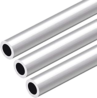 uxcell 6063 Aluminum Round Tube 300mm Length 18mm OD 12mm ID Seamless Aluminum Straight Tubing 3 Pcs