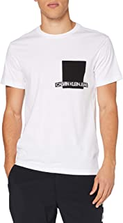 Calvin Klein Instit Contrast Pocket tee Camisa para Hombre
