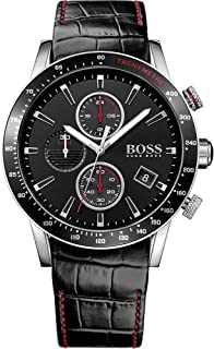 Hugo Boss Casual Watch For Men Analog Leather - 1513390