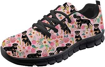 chaqlin Men Women Trainers Shoes Casual Flats Running Walking Gym Shoe Sport Teenager Girls Boys Lace up Sneakers Lightwei...