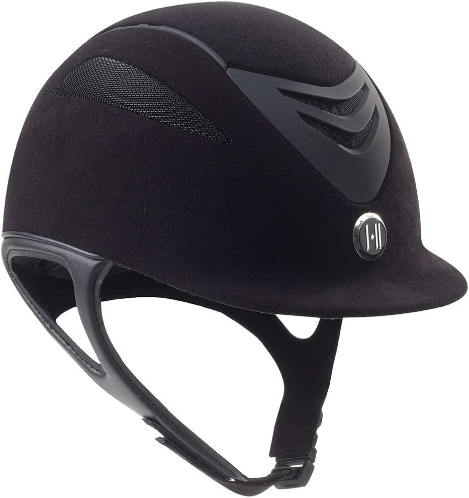 One K Women's Defender Suede Helmet Black XL/LNG US