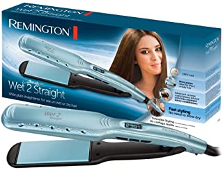 comprar comparacion Remington Wet 2 Straight S7350 - Plancha de Pelo, Cerámica, Digital, para el Cabello Seco y Húmedo, Resultados Profesional...