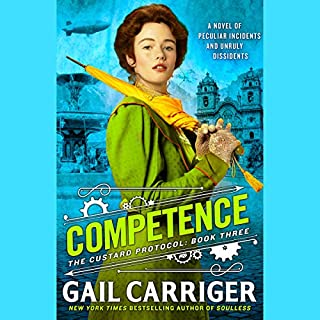 Competence     Custard Protocol, Book 3              Auteur(s):                                                                                                                                 Gail Carriger                               Narrateur(s):                                                                                                                                 Moira Quirk                      Durée: 11 h et 52 min     5 évaluations     Au global 4,2