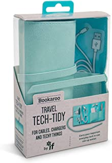 IF Bookaroo Travel Tech-Tidy, Tech Organiser, Travel Pouch Organizer borsa 16 Centimeters Verde (Mint)