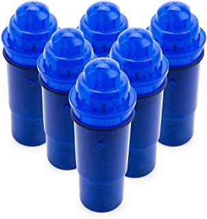 EcoAqua Replacement for Pur Pitcher Water Filter, 6-Pack