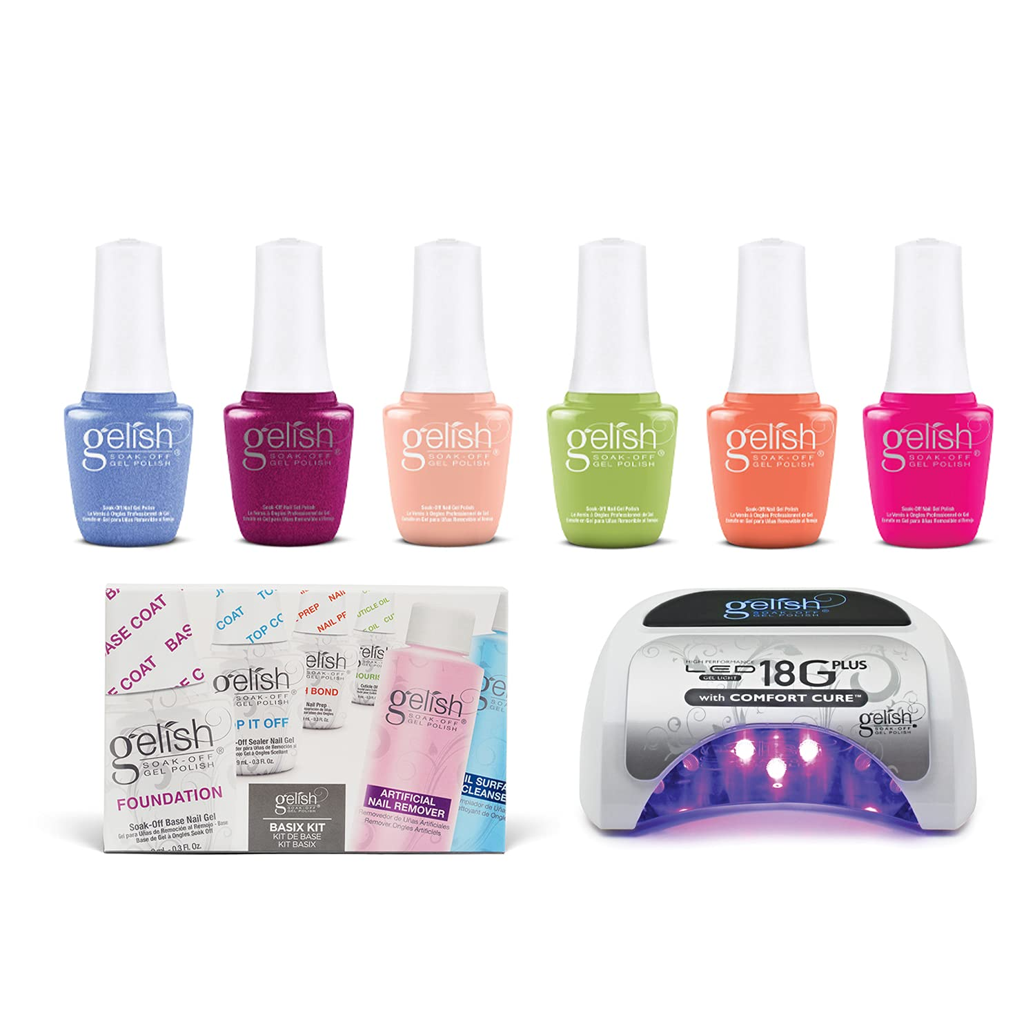Gelish Summer 2021 9mL Feel the 4 years warranty Vibes Shimmer Collection Gel Nai Ranking TOP9