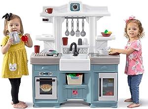 Step2 Timeless Trends Kitchen   Kids Play Kitchen, Blue