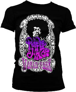 Officially Licensed Jimi Hendrix - Purple Haze World Tour Women T-Shirt